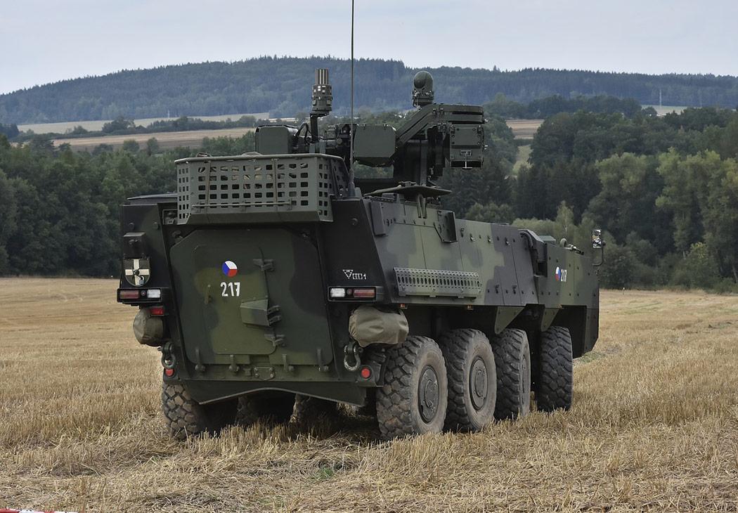 Česká armáda Pandur